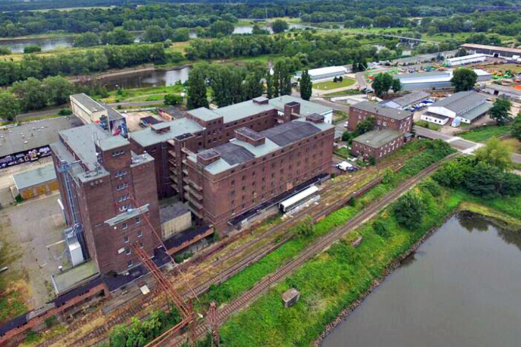 Öko Korn Nord Standort in Magdeburg