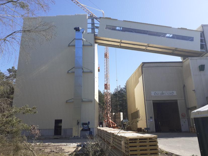 Neubau der Siloanlage in Uelzen